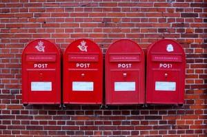 Flash Flood postboxes